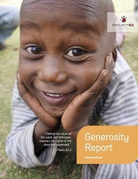 Project 82's 2017 Generosity Report