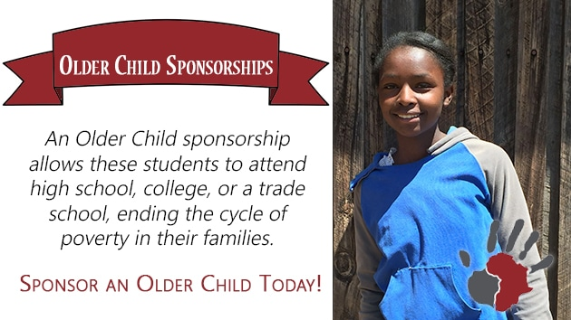 Sponsor an older child today!