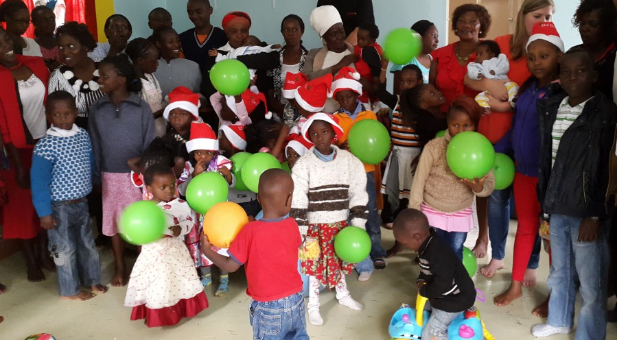 Neema House Christmas Party - Project 82 Kenya