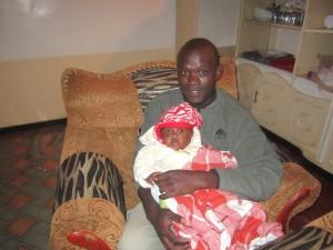 Dan - an intern to Kenya's orphans